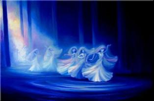 Mystical Dancers Whirling